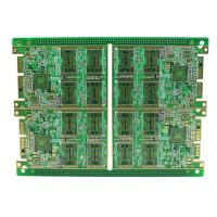 Wholesale Rigid Multilayer PCB , High Density 8 Layer Immersion Gold PCB Automatic Control Circuit Design from china suppliers