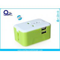 Compact Design All In One USB Power Adapter , International Voltage Converter 220v To 110v for sale