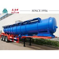 Wholesale 18000 Liters Stainless Steel Acid Tanker Trailer Long Using Life With BPW Axles from china suppliers