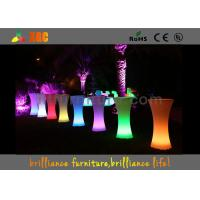 Wholesale LED lighting Cocktail table / 100-240V Outdoor Furniture for party & exhibition from china suppliers