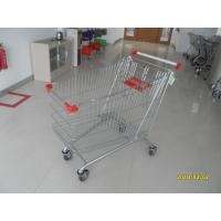Buy cheap Zinc Plating Large Wire Shopping Carts 240L With Anti UV Handle Cap from wholesalers