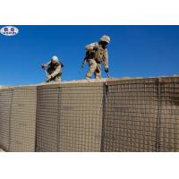 China Heavy Military Hesco Barriers Container Zinc - Coating Welded Gabion on sale