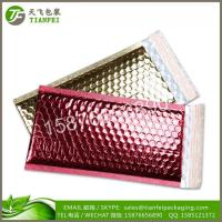 Wholesale (FREE DESIGN)Wholesale Shipping Envelope Padded Foil Waterproof Copper Metallic Poly Bubble Mailer from china suppliers