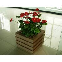 Buy cheap wood plastic outdoor planter OLDA-7001 520mm*520mm*526mm from wholesalers