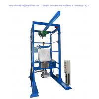 Wholesale DCS-1000W+DS 1000 Kg Jumbo Bag Unloader Machine Ton Bag Breaker Discharger from china suppliers