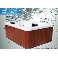 Wholesale Square Acrylic Whirlpool Massage Outdoor Bathtubs E-370S 2000 * 1640 * 800mm from china suppliers