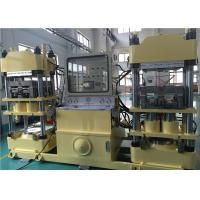 China Efficient 4000KN Brake Pad Molding Machine Double Stations Easy Operation for sale