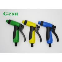 Wholesale Blue Green Yellow Adjustable Spray Hose Nozzle With Soft And Skid Proof Handle from china suppliers