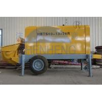 Wholesale High Performance Diesel Concrete Pump 23 Mpa Pumping Pressure Easy To Move from china suppliers