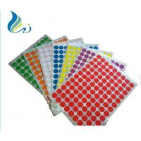 Wholesale OEM Colorful Self Adhesive Laser Printer Paper Die Cut Personal Decoration from china suppliers