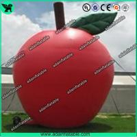 Wholesale Custom Red Inflatable Products 5M Oxford Inflatable Apple For Advertisement from china suppliers