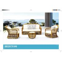 Wholesale new product hotel rattan sofa garden sofa set wicker outdoor furniture from china suppliers