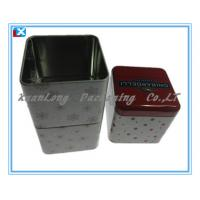 Quality square Coffee tin can packing for sale