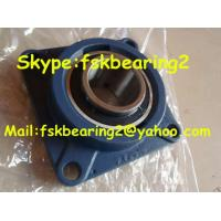 China Flange Cast Iron Pillow Block Ball Bearing / Ucf203 Bearings Pillow Block on sale
