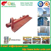 Wholesale High Pressure CFB Boiler Header Steam Boiler Header with ASME from china suppliers