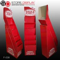 Wholesale 5 shelves calendar floor display stand from china suppliers