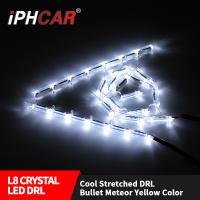 Wholesale IPHCAR car accessories Led  turning light 500mm 700mm led stack running DRL daytime running light for car from china suppliers