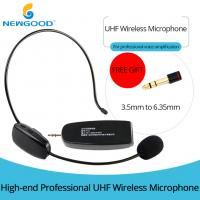 China UHF Universal Digital Over the Head with Noise Cancelling Microphone and removable ear hook ,Headset And Handheld 2 In 1 on sale