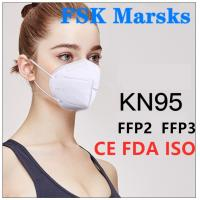 Wholesale N99 N95 KN95 Surgical Mask Foldable Design For Anti Pollution Bacteria And Viruses from china suppliers