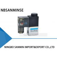 """2 Way 2 Position 1/8 """" 1/4 """" Port Size Pneumatic Solenoid Valve NBR Material Oil Seal"""