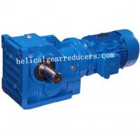 Buy cheap DOFINE  Helical Worm Gear speed reductor S series speed gear motor from Wholesalers
