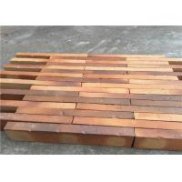 China High Strength Solid Clay Bricks , Perforated Brick Wall For Contribution Size 500 x 90 x 40 mm on sale
