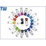 China Classic Twister 1GB Pen Drive Swivel Thumb Drive Device Free Logo Printing for sale