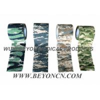 Wholesale Camouflage Cohesive Wrap Sports Strapping Tape For Wrapping Joints And Muscles from china suppliers