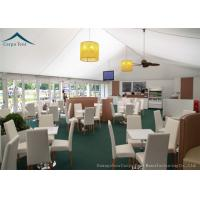 White Special Event Canopy, Outdoor Party Tents For Temporary Warehouses / Workshops