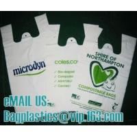 Wholesale bio bag, vest carrier, carrier bag, shopping bags, shopper, handy bag, handle bags from china suppliers