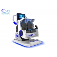 Wholesale Fiberglass 2 Persons Amusement Ride System 9D VR Simulator from china suppliers