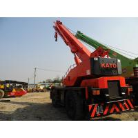 Quality USED KATO KR-25H-IIIL 25T ROUGH TERRAIN CRANE FOR SALE ORIGINAL JAPAN 25T for sale