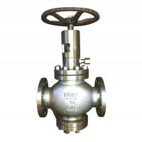 Wholesale Renewable Disc Plug Type Globe Valve Flexible Graphite MSS SP-25 B16.34 from china suppliers