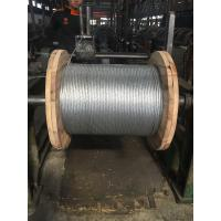 China Durable Stranded Steel Cable With Class A Heavy Zinc Coating And Grade 1 Tensile Strength on sale