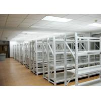 Buy cheap Light Duty 4 Levels Commercial Metal Racking Q235B Grey / Orange / Blue Color from wholesalers