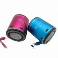 Wholesale Mini Portable Speakers with Aluminum Housing, Suitable for Computer/Mobile Phone/MP3 from china suppliers