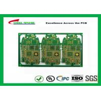 Wholesale HDI 6L FR4 1mm Immersion Gold PCB Engineering for Cell Phone / Mobile Phone from china suppliers
