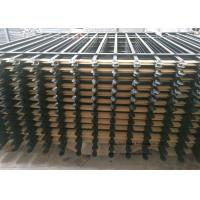Wholesale 2 - Rail Flat Top Powder Coated Garden Edging Fence With Solid Structure from china suppliers