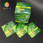 China Digital Printing Herbal Incense Packaging CBD Gummy Natural Hemp Gummies Candy Bag for sale