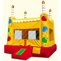Wholesale Inflatable Birthday Cake Bounce House Bouncer from china suppliers