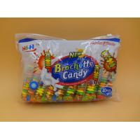 Wholesale Fruit Flavors Brochette Sugar Free Peppermint Candy / Round Shape Compressed Candy from china suppliers
