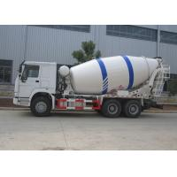 China Sinotruk HOWO 10M3 Ready Mix Truck , 10CBM Self Loading Mixer Truck With Mixer Drum on sale