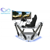 Wholesale Customized  Entertainment Three Screen Racing Car Simulator from china suppliers