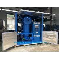 China High Standard Vacuum Insulating Oil Filtration Unit for Oil Degas & Dewater on sale