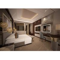 Customized Luxury Hotel Bedroom Furniture / 5 Star Hotel Bed ISO9001 ISO14001 for sale