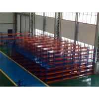 Wholesale Multi - Levels Heavy Duty Metal Shelving , High Capacity Industrial Steel Platforms for Storage from china suppliers