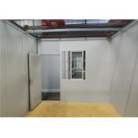 Wholesale Steel Door Prefabricated Container House For Mining Camp / Labor Room from china suppliers