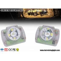 China Cordless Rechargeable Mining Headlamps Cree Led , Coal Miners Helmet Light Explosion Proof on sale