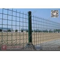 Wholesale Welded Roll Mesh Fencing | 50X50mm square hole | RAL6005 Green PVC coated from china suppliers