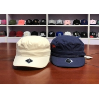 Buy cheap Blue White 100% Cotton 6 Panel 58cm Military Army Caps from wholesalers